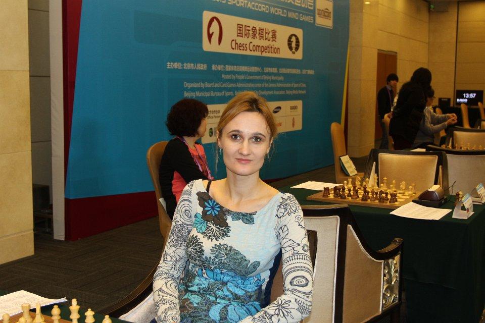 GM Viktorija Čmilytė; sportaccord2013.fide.com nuotrauka