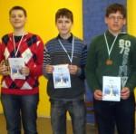 2012 metų Lietuvos šachmatų čempionato (B14) nugalėtojai