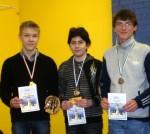 2012 metų Lietuvos šachmatų čempionato (B16) nugalėtojai