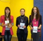 2012 metų Lietuvos šachmatų čempionato (M16) nugalėtojos