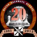 MARGIRIO ŠACHMATŲ KLUBO 20-mečio jubiliejus