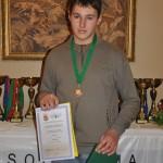 A turnyro jauniu grupes III vieta - Andrei Kreinhauz