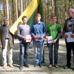 Žygimantas Svitojus (I vieta); Gytis Vaicekauskas (II vieta); Robertas Velioniškis (III vieta)