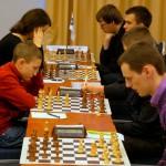 Lietuvos šachmatų lyga; 2014 metų pirmasis etapas Vilniuje