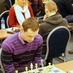 Lietuvos šachmatų lyga, Vilnius, 2014-01-25; Tomas Tvarijonas