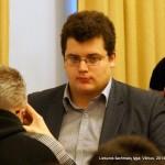 Lietuvos šachmatų lyga, Vilnius, 2014-01-25; FM Tautvydas Vedrickas