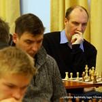 Lietuvos šachmatų lyga, Vilnius, 2014-01-25; GM Darius Zagorskis