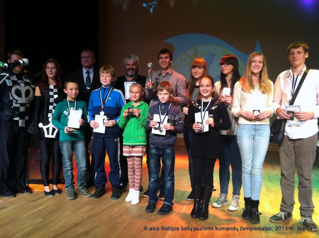 6-asis Baltijos šalių jaunimo komandų klasikinių šachmatų čempionatas – 2013 m. spalio 27 – lapkričio 1 dienomis Estijoje