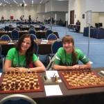 Dominyka Batkovskytė; Giedrė Vanagaitė -18-tasis Europos šachmatų komandų čempionatas