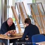Aloyzas Kveinys -II vieta, čempionas Šarūnas Šulskis; klasikinių šachmatų Lietuvos 2014 m. čempionatas