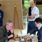 Vidmantas Mališauskas, Tautvydas Vedrickas; klasikinių šachmatų Lietuvos 2014 m. čempionatas