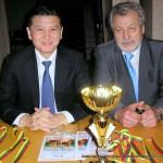 Kauno šachmatininkų draugijos įsteigimo 90-mečio paminėjimas, Jonas Viesulas, Kirsan Nikolayevich Ilyumzhinov