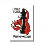 PANEVEZYS RAPID CHESS 2012 - GREITŲJŲ ŠACHMATŲ TURNYRAS PANEVĖŽYJE