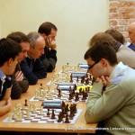 greitųjų šachmatų atvirasis Lietuvos čempionatas, 2013-11-30; Vidmantas Mališauskas; Aloyzas Kveinys; Vytautas Vaznonis