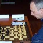 Vidmantas Mališauskas; Lietuvos šachmatų čempionatas, 2012 balandžio 21-29, Vilnius