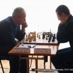Vidmantas Mališauskas, Emilis Pileckis; Lietuvos šachmatų čempionatas, 2012 balandžio 21-29, Vilnius
