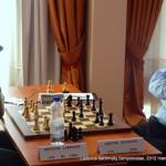 Tautvydas Vedrickas; Lietuvos šachmatų čempionatas, 2012 balandžio 21-29, Vilnius