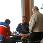 Mindaugas Beinoras, Virginijus Dambrauskas; Lietuvos šachmatų čempionatas, 2012 balandžio 21-29, Vilnius