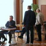Virginijus Dambrauskas, Gintautas Jurgis Plungė; Lietuvos šachmatų čempionatas, 2012 balandžio 21-29, Vilnius