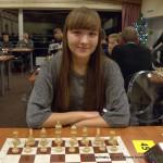2013 m. atvirasis Lietuvos žaibo šachmatų čempionatas; Giedrė Vanagaitė