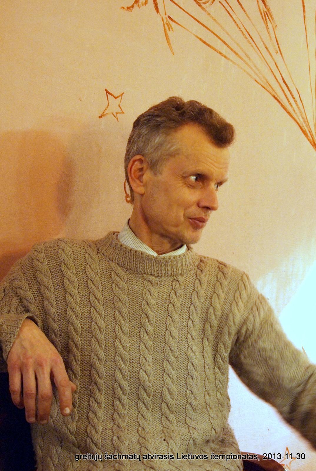 greitųjų šachmatų atvirasis Lietuvos čempionatas, 2013-11-30; IM Antanas Zapolskis