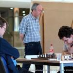 GM Šarūnas Šulskis - klasikinių šachmatų Lietuvos 2014 metų čempionas; Tautvydas Vedrickas