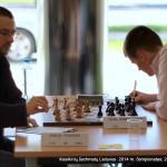 klasikinių šachmatų Lietuvos 2014 m. čempionatas; Emilis Pileckis, Titas Stremavičius