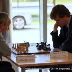 klasikinių šachmatų Lietuvos 2014 m. čempionatas; Vidmantas Mališauskas, Šarūnas Šulskis