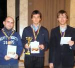 greitųjų šachmatų 2011 m. Lietuvos čempionatas, Dmitrijus Chocenka, Tomas Laurušas, Šarūnas Šulskis