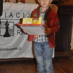 jauniausias turnyro dalyvis