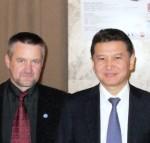 Kauno šachmatininkų draugijos įsteigimo 90-mečio paminėjimas, Aurius Bitinas, Kirsan Nikolayevich Ilyumzhinov