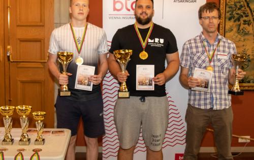 BTA Lietuvos greitųjų čempionate – apginti titulai