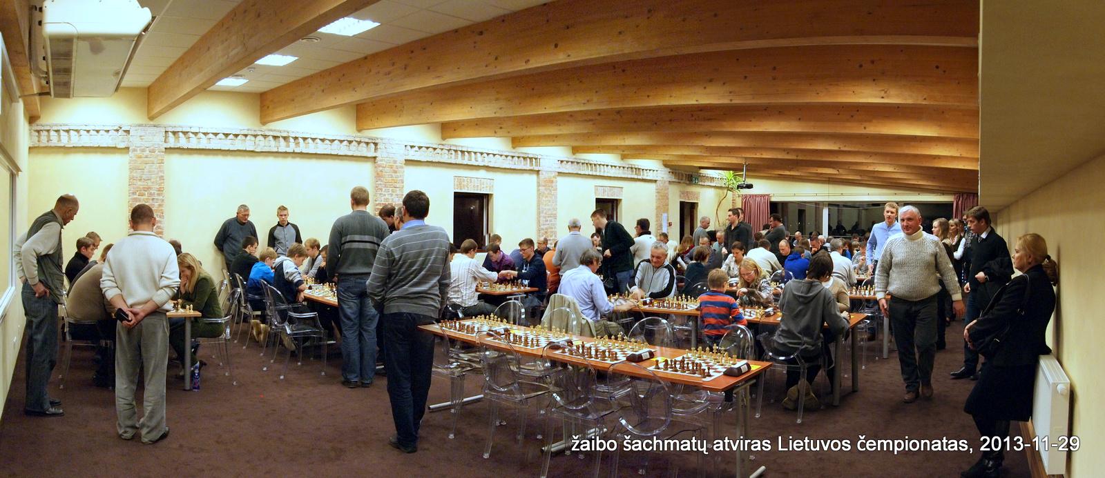2013 metų atvirasis Lietuvos žaibo šachmatų čempionatas